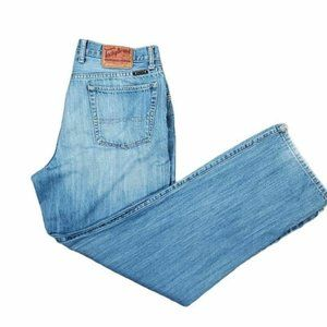 Lucky Brand Mens Classic Straight Jeans  36X32